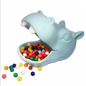 Blue Hiippo Candy Dish/Decor